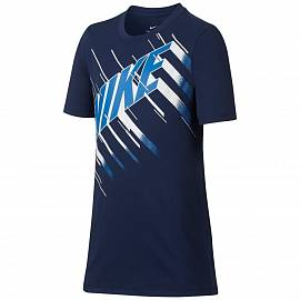Футболка NIKE fw B Dry Speed Block Binary Blue д.