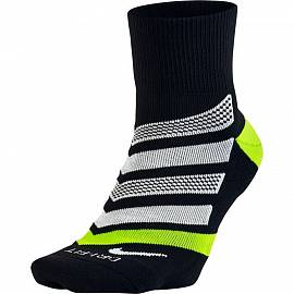 Носки NIKE ss Running Dri Fit Black/Volt/White