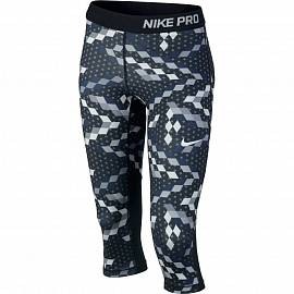 Брюки NIKE ss Pro Cool Blk/Pure Platinum д.