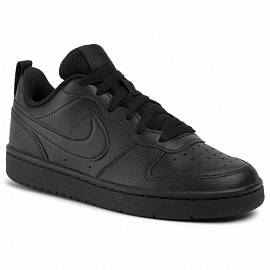 Обувь NIKE fw Court Borough Low 2 Black-Black д.