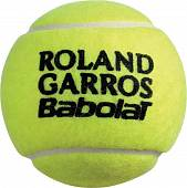 Мячи теннисные BABOLAT FRENCH OPEN Clay Court 3шт